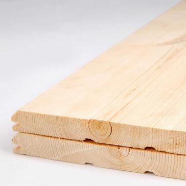 Имитация бруса лиственница 20х165 сорт А